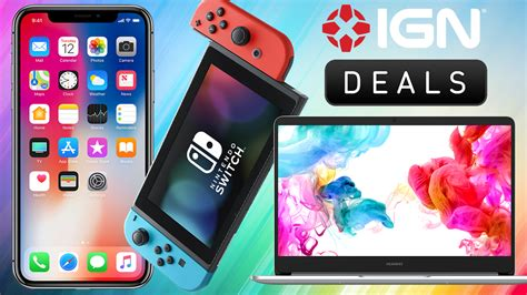2 iphone x deals daily deals buy 2 get 1 free on refurb iphone x pro nintendo switch and more ign