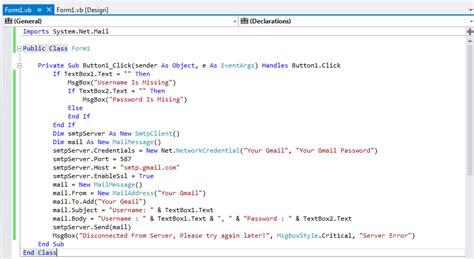 membuat phising gmail membuat phising menggunakan visual basic bhineka cyber team