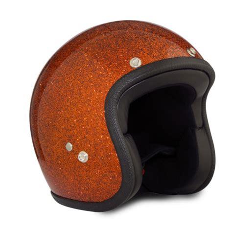 Helm Retro Orange seventies metalflakes quot golden orange quot jethelm 24helmets de