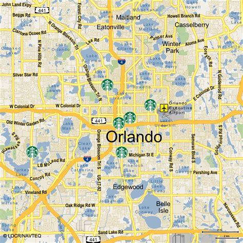 zip code map orlando orlando florida zip code map free