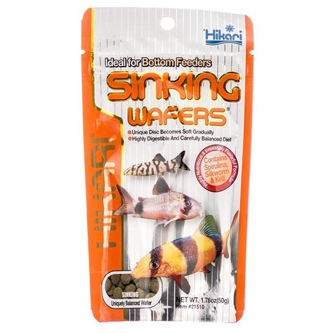 hikari sinking wafers review tropical fish food flakes pellets wafers tropical