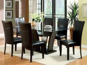 glass dining room sets glass dining room set marceladick