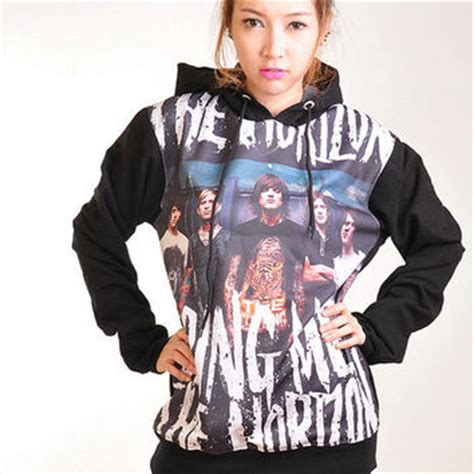 Hoodie Sweater Switer Bmth Logo best bring me the horizon hoodie products on wanelo