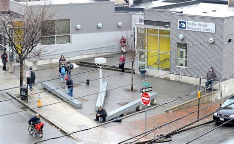 Preble Soup Kitchen by Portland Shelter Clashon Stop Crime Tactics The