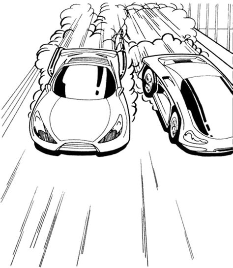 hot wheels track coloring pages track race two car hot wheels coloring page kids