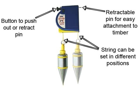 Magnetic Plumb Bob Reel by What Additional Features Do Plumb Bobs