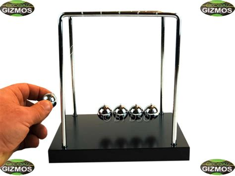desktop swinging balls global gizmos newtons cradle balls swinging balls desktop