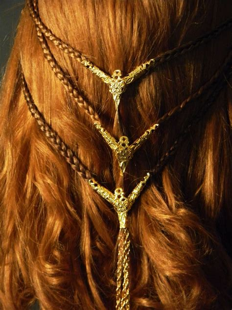 ancient celtic hairstyles beautiful celtic braids viking celtic medieval