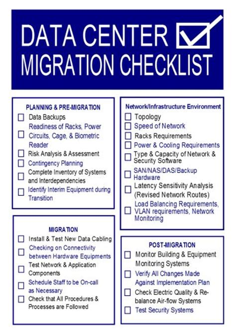 data migration document template best photos of data center assessment checklist data