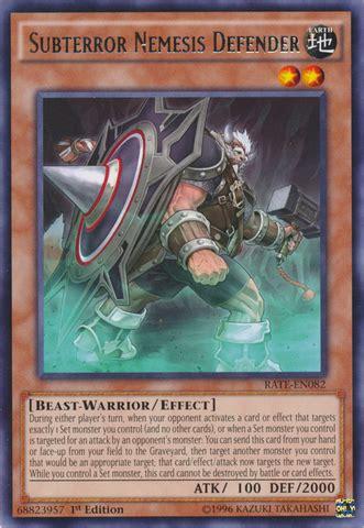 Kartu Yugioh Hebo Lord Of The River Common 1 subterror nemesis defender rate en082 1st edition yu gi oh singles 187 raging