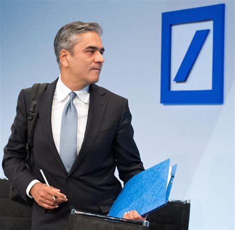 vorstandsvorsitzende deutsche bank milliardenverlust deutsche bank schockiert mit