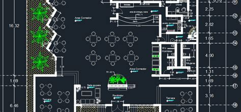 Beach Restaurant 2D DWG Design Plan for AutoCAD ? Designs CAD