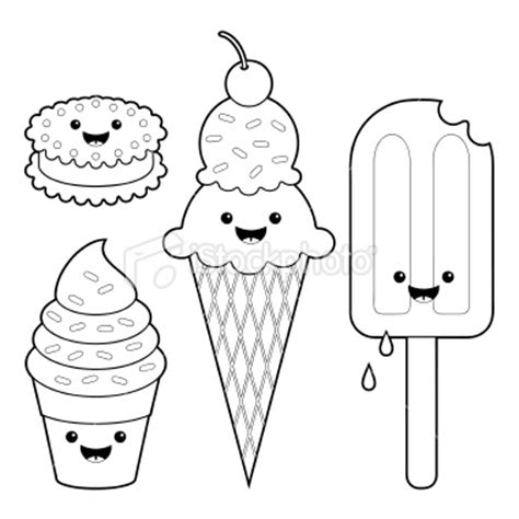 kawaii coloring pages of food kawaii coloring bing images crafts pinterest