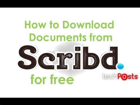 how to download from scribd for free 2016 working trick how to download any document from scribd for free youtube