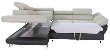 Unic cairo sectional sleeper sofa convertible sofa bed with storage