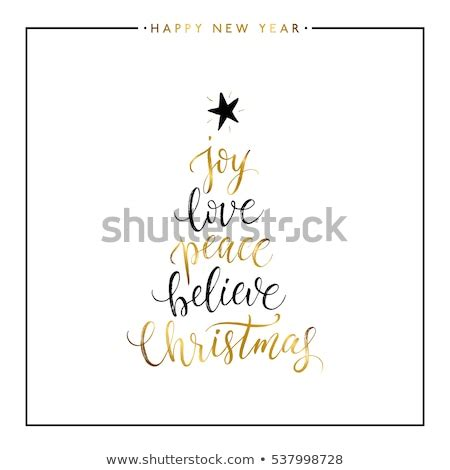 joy love peace  christmas gold stock vector  shutterstock