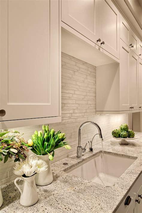 Kashmir White Granite Countertop Design Ideas