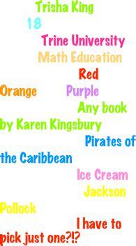 food in the color purple book trisha king