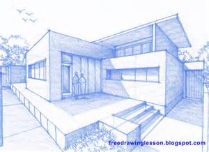 drawing a house learn to draw how to draw a house
