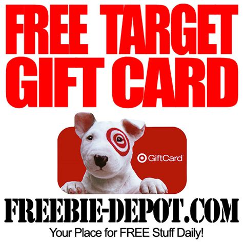 How To Get Target Gift Cards Free - free 10 target gift card freebie depot