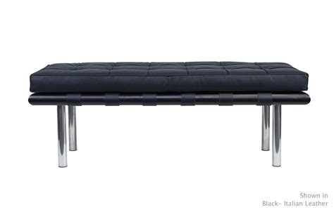 barcelona benches barcelona bench modern furniture van der rohe serenity
