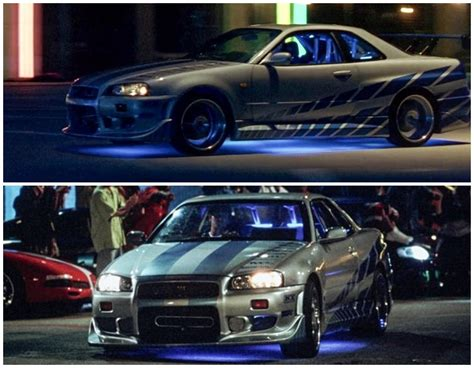 Brian S Nissan Skyline Gt R R34 Silver the fast and the furiously coveted some of the most