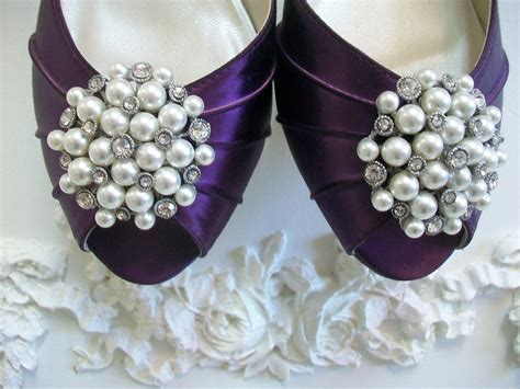 Wedding Accessories by Pearl Wedding Accessories Handmade Etsy Wedding Finds Shoe