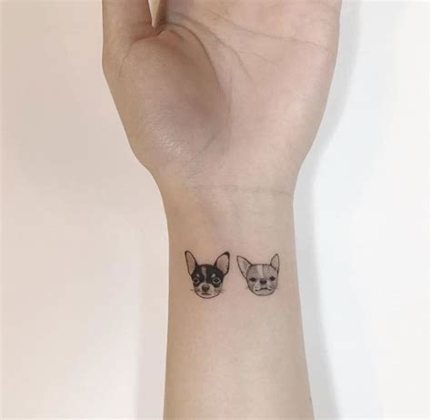 tattoo minimalist dog 30 super cute and minimalist tattoos by playground tattoo