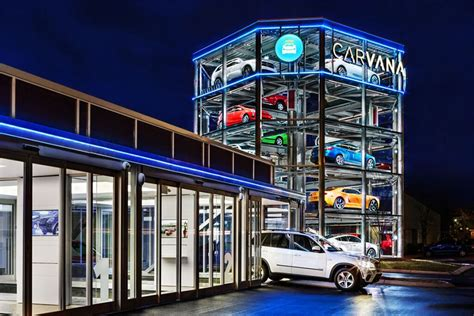 carvana coin operated car vending machine opens  nashville  octane