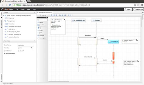 create sequence diagram free uml tool free uml drawing tools