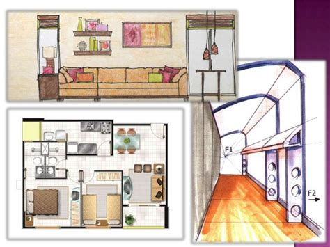 drawing  interior design