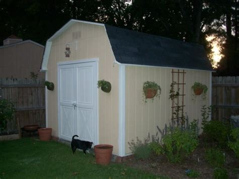 shed makeovers an ugly shed makeover i like the light garden and
