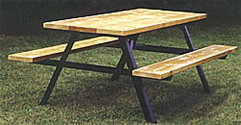 metal picnic table frame picnic tables park bench frames outdoor grills