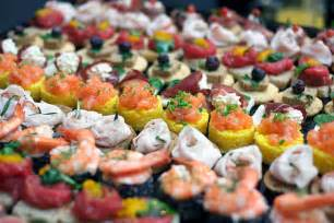 Couples Baby Shower Food Ideas - wedding reception finger foods sang maestro