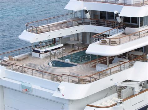 Crazy House Floor Plans by Crazy Facts About Paul Allen S Superyacht Business Insider