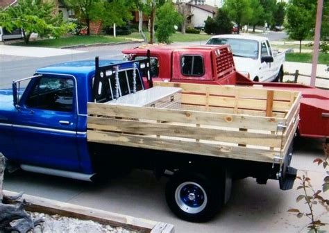wooden truck bed the 25 best flatbed truck beds ideas on flat