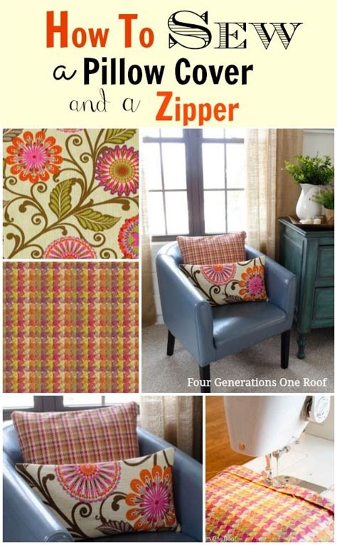 How To Sew Pillow Covers With Zippers by 206 Best Diy Pillow Inspiration Images On