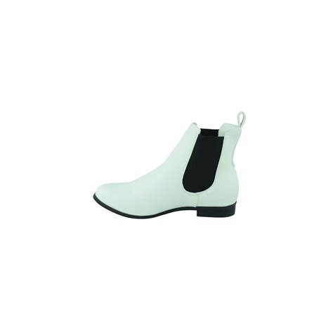 erin white ankle boots parisia fashion