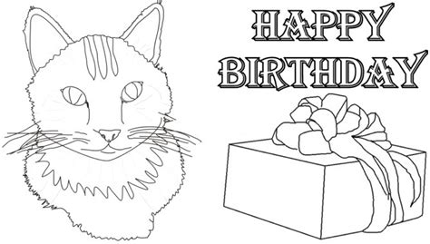 Printable Birthday Cards To Color Printable Coloring Birthday Cards For Sister Happy