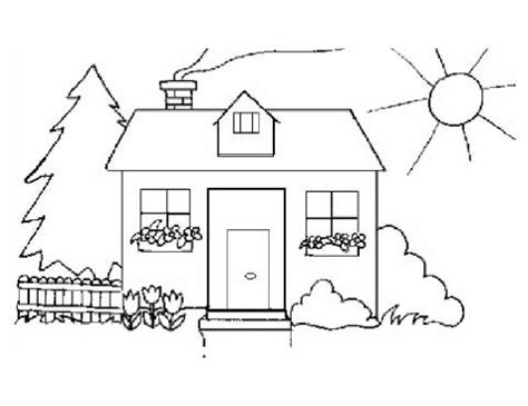 house coloring pages for preschoolers house fire coloring pages kindergarten coloring pages