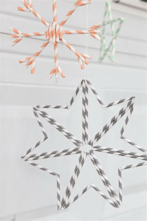 creative diy projects     drinking straws