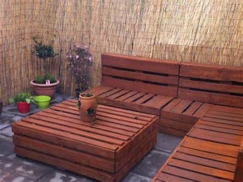 diy ideas garden furniture    pallets youtube