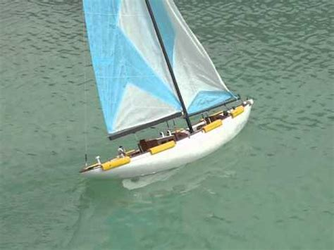sailing boat rc rc yacht sailing youtube