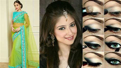 hairstyles for saree in youtube party makeup with hairstyle fade haircut