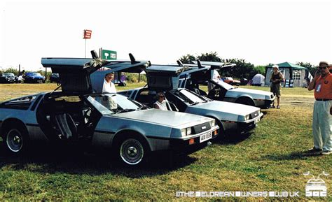delorean owners club club history the delorean owners club uk