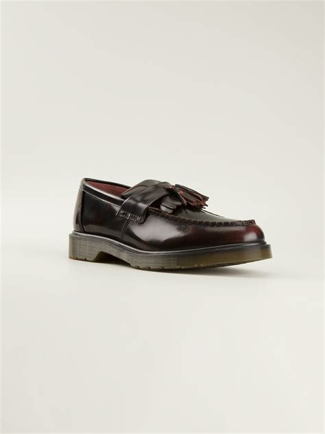 dr martens loafers with tassels dr martens adrian tassel loafers in lyst
