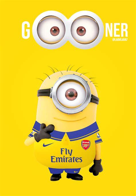 Football Minions Arsenal gooner minion arsenal fc アーセナル サッカー
