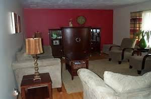 red accent wall in living room 148 best images about decoration on pinterest