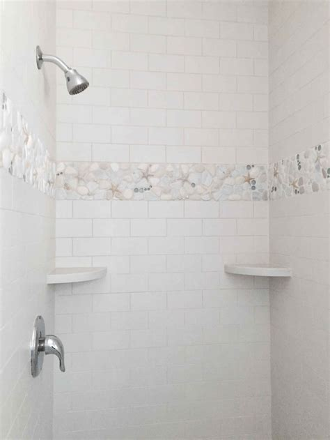 bathroom tile border height 40 curated tub to walk in shower conversion ideas by
