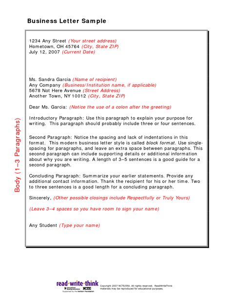 business letter best of correct form for a business letter correct